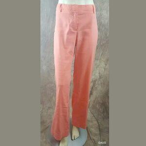 Theory Coral Linen Blend Pants Wide Leg